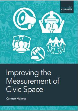 Mejorando la medición del espacio cívico